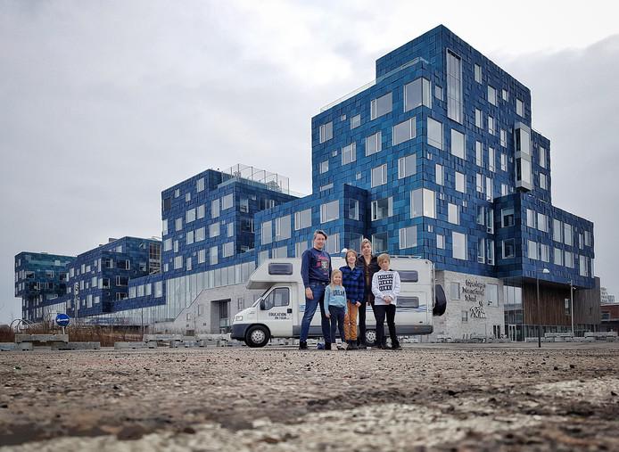 Tilburgs gezin werd wijs door onderwijsreis in camper: je moet 't samen doen