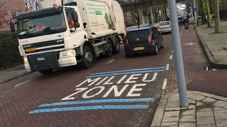 Milieuzone Rotterdam wordt opgeheven
