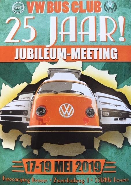 VW BUS CLUB 25 JAAR JUBILEUM