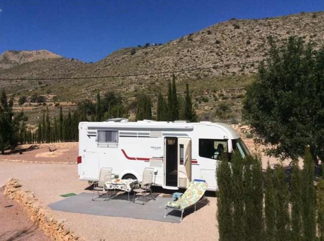 Aantal camperplaatsen in Spanje fors gestegen