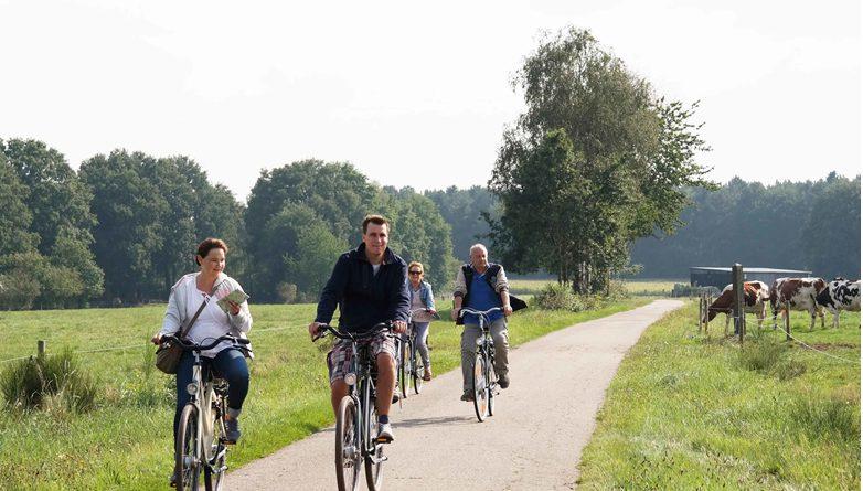 Midden-Limburg: fietsen in vlak landschap