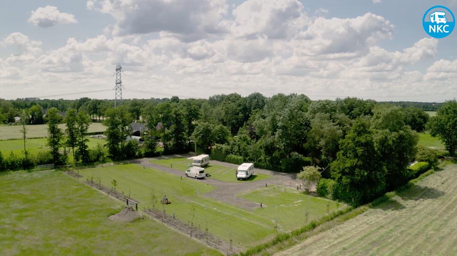 Nieuwe camperplaats in Grootegast