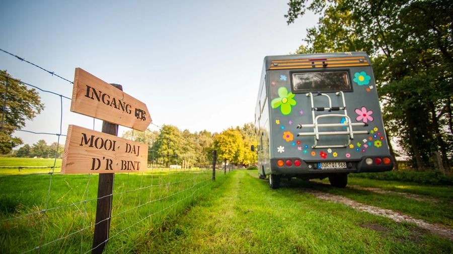 Nieuwe camperlocatie aan de rand van Enschede