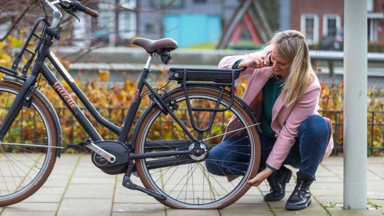 Onderweg pech met de e-bike
