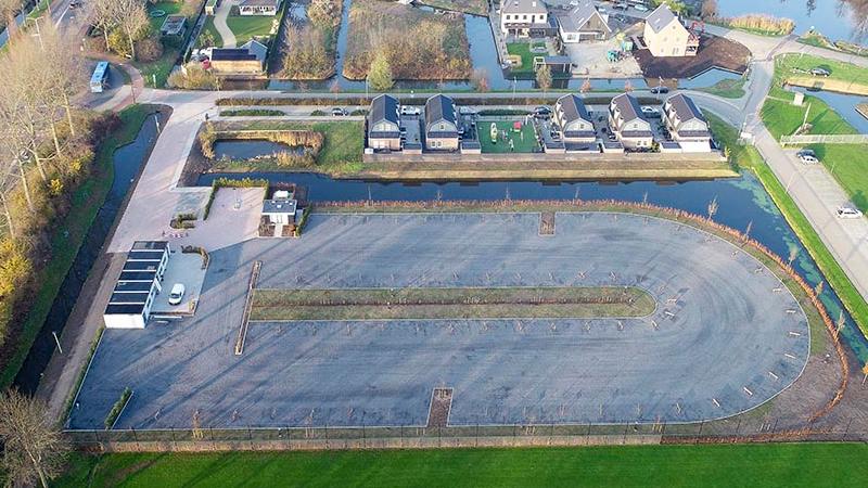 Nieuwe camperplaats Alblasserdam