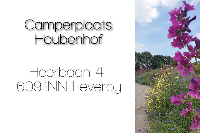 Voortgang aanleg nieuwe camperplaats Houbenhof