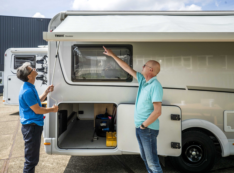 Nederlanders kopen meer campers dan ooit.