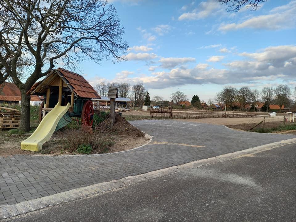 Camperplaats Houbenhof in Leveroy.