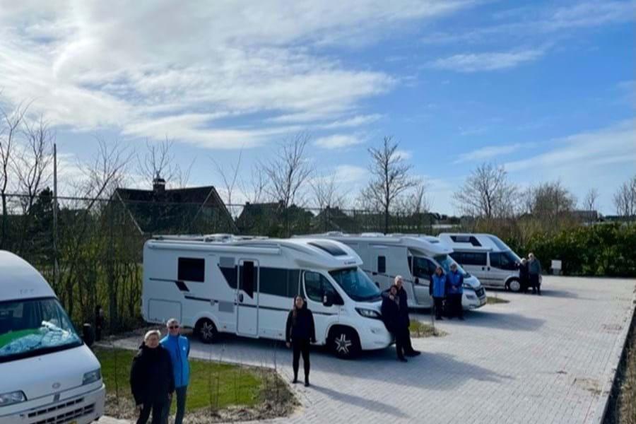 Nieuwe camperplaats in Rijnsburg