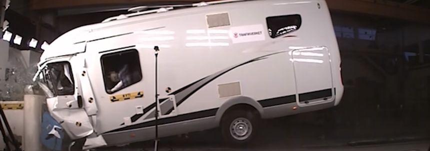 Crashtest: zo (on)veilig is een camper
