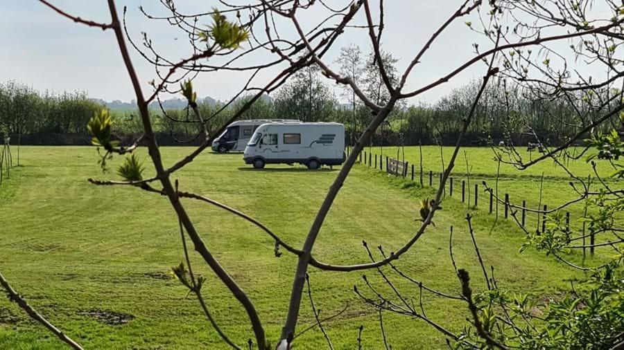Nieuwe camperplaats in Hasselt