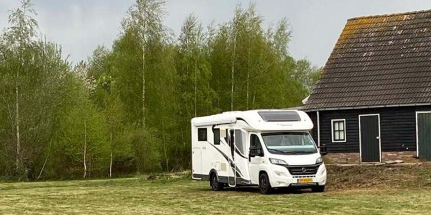 Nieuwe camperplaats in het Drentse Hijken