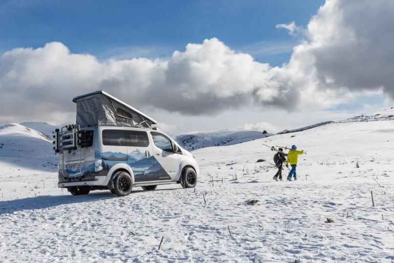 Nissan presenteert stoere versie e-camper