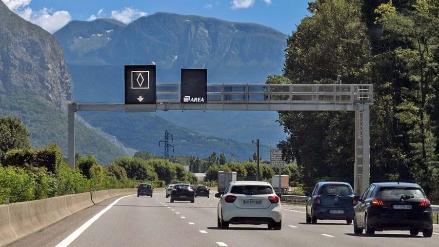 Nieuw verkeersbord in Frankrijk