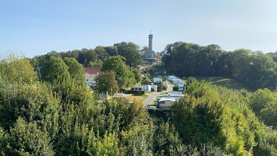 Gewoon weer lekker camperen in regio Limburg