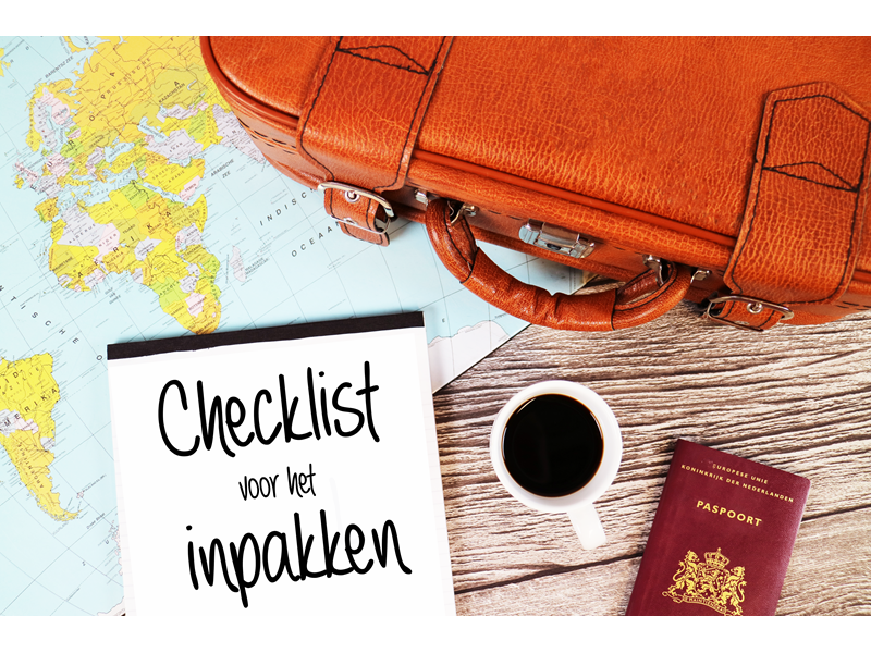 Checklist reizen met een camper